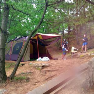 琴引浜キャンプ