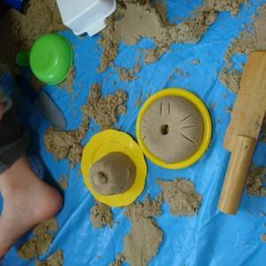 家の中で遊べる砂~キネティックサンド~