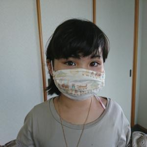 マスク作ってみました。