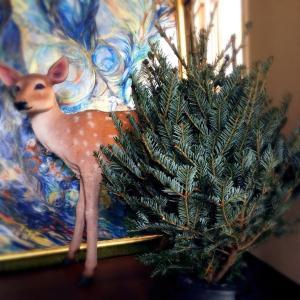 今年もIKEAのもみの木