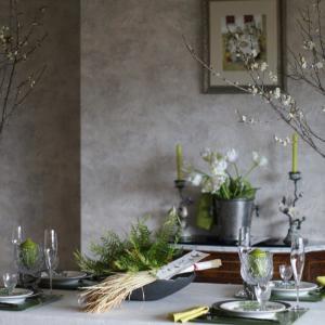 1月レッスン立春のテーブル