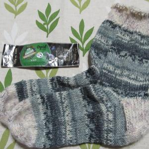 手編みの靴下130足目、完成。 ハンドメイド・ニット・ソックス、編み物。