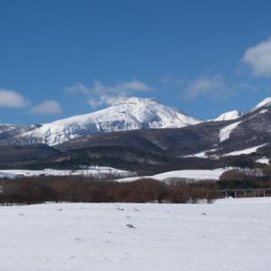 那須高原の冬