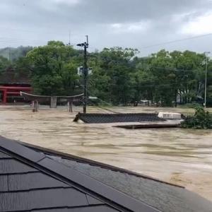 衝撃! 球磨川氾濫!