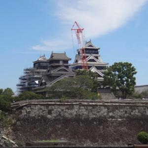 熊本城天守閣が再建される前
