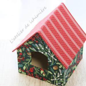 クリスマスだね~♪ハウス型ティッシュBOX・フレーム&6角BOX <Nov.13 part2>