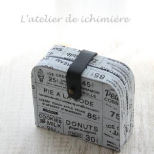 血圧計をカルトナージュケースに入れましょう~ Oct-7