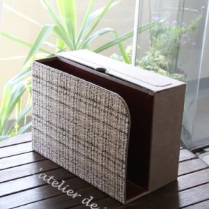 2ブロックタイプのファイルBOX