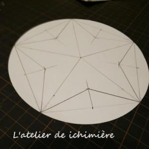 5角形の中の星がトレイになりました