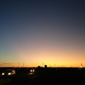 強風であった昨日から今朝に掛けてのとても綺麗な空。島国日本は一気に空がリセット!本当の空を改めて思い出す!!