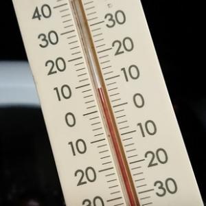 令和になって最低気温!?当社温度計は遂に7℃を示しております。風も強めであり子供達は温かな格好で!!
