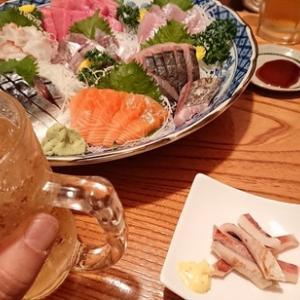 色々な忘年会のある令和元年の年の暮れ!祭り好きな大先輩方と居酒屋どまん中さんで小さくても内容はとても大きな忘年会を!