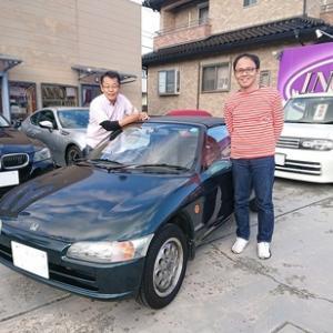 車が凍りついていた寒い朝の昨日!予想通り暖かくなった日中にまたまた大感謝の納車が2台!先ずは栃木の方にBEATを納車!