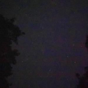 まだ暗い早朝に空を見て久々の満点の星に感激!更に暗いところで見ようと法多山方面に行った勢いで日の出まで見る事に!!
