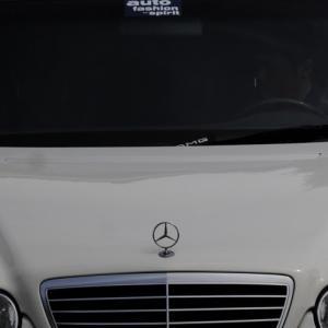 W210 前期のE320T-3,6仕様のワゴンを 後期AMGスタイル仕様のE55T仕様に変更  そしてお約束の1ナンバースポトラスタイルで復活です。