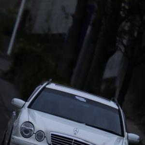 W210  前期モデルを後期仕様にカスタム AMG  E55Tスタイルに仕上げて1ナンバースポトラスタイルへ!  2019 04  14