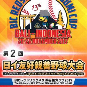 第2回・日イ友好親善野球大会パンフ