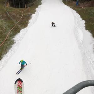 今シーズン初滑りです。