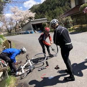 みんなでサイクリング♪