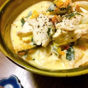 かぼちゃ豆乳にゅう麺
