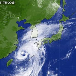 台風が近づいている 9月21日(土)曇り