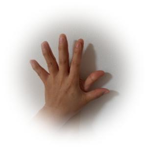 指が6本に?