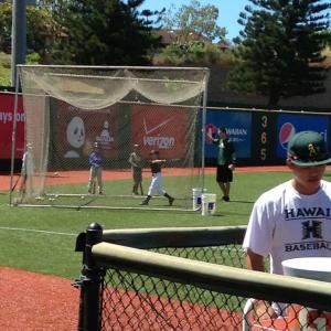 """高校野球~ここから繋がる""""■ハワイ親子野球留学、一番の思い出の品。"""""""