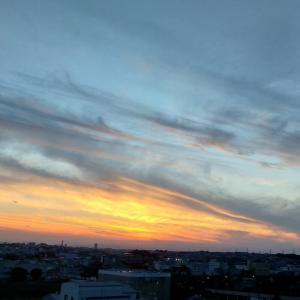 ☆★朝焼け見る日は夕空も。