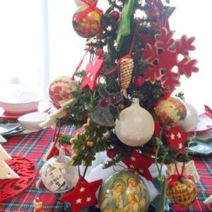 クリスマスツリーの用意