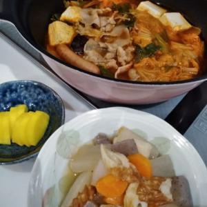 今夜waキムチ鍋♪