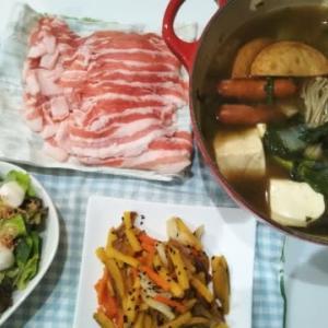 豚バラde今季初鍋♪