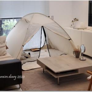 週末リビングキャンプ♡