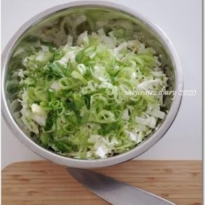 野菜の水分だけ♡とろとろお好み焼き。