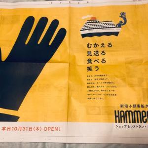 早速行ったよ横浜ハンマーヘッド 10月31日オープン