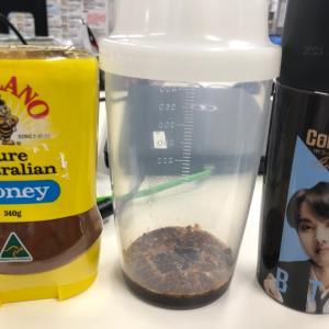 日曜出勤中のタルゴナコーヒー