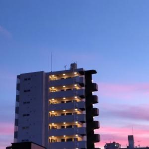 たった今!の横浜の空