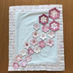 桜のキルト