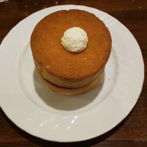星乃珈琲店の窯焼きスフレパンケーキ