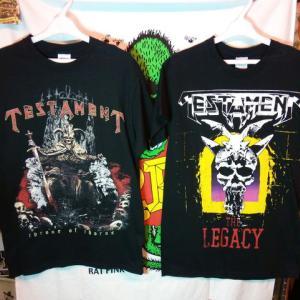 オススメのメタルTシャツ第2弾!☆ #バンドTシャツ #ロックT