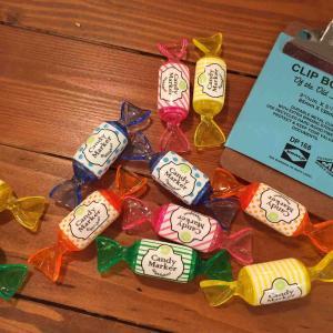 ペンケースやデスクにちょこんとあったら可愛い♡楽しいキャンディーマーカー☆