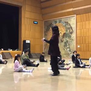 小布施野外シアターWS~MAプログラム #WS #野外劇 #バレエ #表現 #インプロ