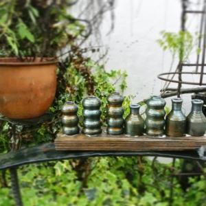 鉄の雨浴🔨 こんなに売れない花器はない。