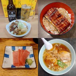 上野で暴飲暴食。プチ家出中年の休日