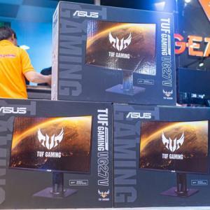 ASUS、TUF GAMINGブランドの27インチ/曲面VA/165Hzゲーミングモニター『TUF Gaming VG27BQ』