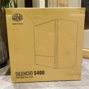 Cooler Master 『Silencio S400』 レビューチェック ~MicroATX/ミニタワーの静音PCケース~