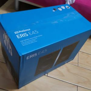 PreSonus 『Eris E4.5』 レビューチェック ~リスニングでも通用するアクティブモニタースピーカー~