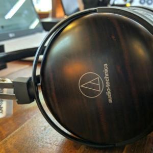 オーディオテクニカ 『ATH-AWKT』 レビューチェック ~黒檀を使用したハイエンドクラスのヘッドホン