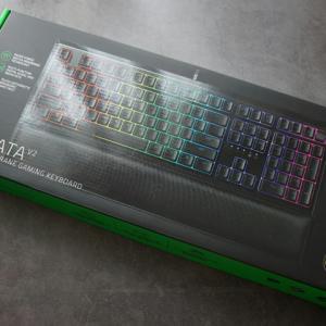 Razer 『Razer Ornata V2』 画像など ~ハイブリッドスイッチ&デジタルホイール採用のゲーミングキーボード