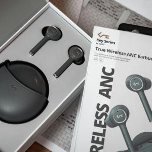 AUKEY 『Key Series EP-T18NC』 レビューチェック ~ANC搭載&Qi対応の完全ワイヤレスイヤホン