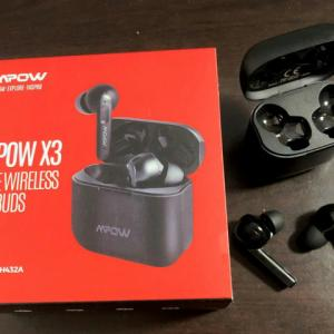 Mpow 『Mpow X3』 レビューチェック ~自身初となるANC搭載の完全ワイヤレスイヤホン